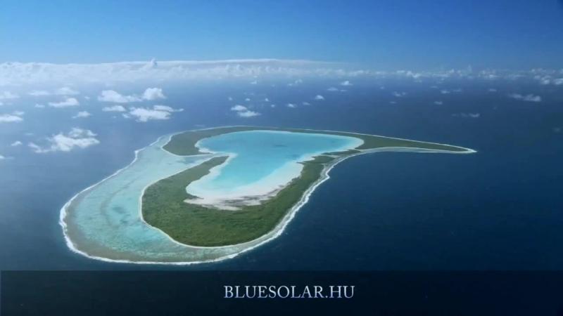 Жемчужина Тихого океана остров Бора Бора (720p)