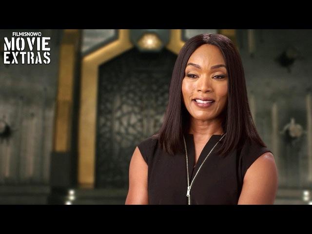 Black Panther | On-set visit with Angela Bassett