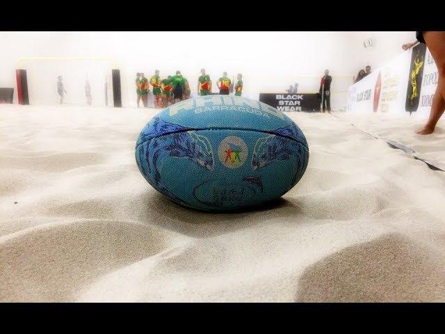 Первый Песок. Турнир по пляжному регби.