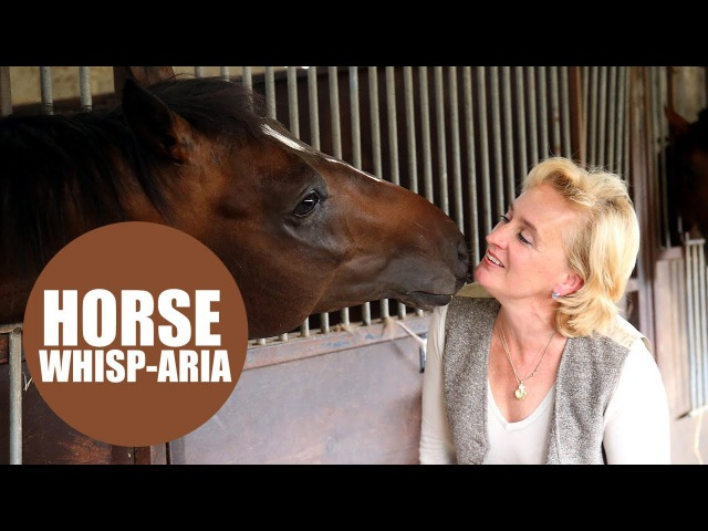 Racehorse trainer sings OPERA to her horses
