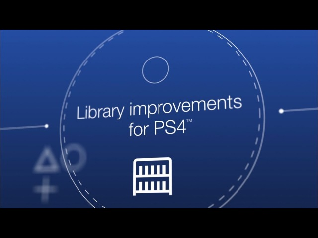 System Software Update 5.50 | Library Improvements