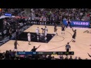 NBA Manu Ginobili SCHOOLS Anthony Davis 2 Fouls and 2 Techs in 23 seconds