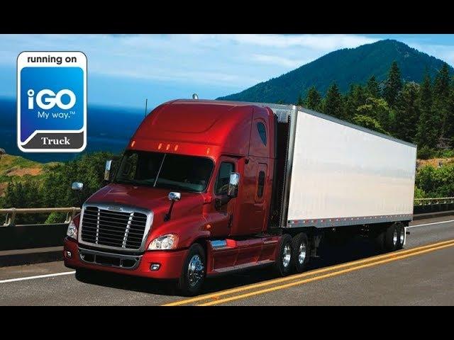 Установка iGo Clarion Truck на Win CE навигатор