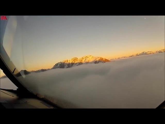 Вот Что Видят Лётчики с Кабины. Пролетая Над Плоской Землёй