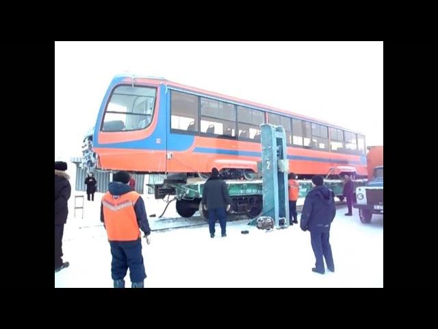 09.12.2012 Прибытие вагонов 71-623 в Павлодар