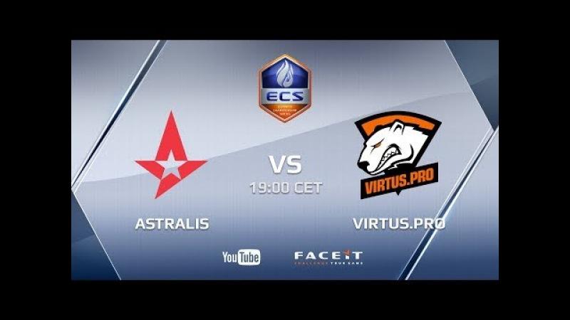 Astralis vs Virtus.pro, FaZe vs Virtus.pro, ECS Season 5 Europe