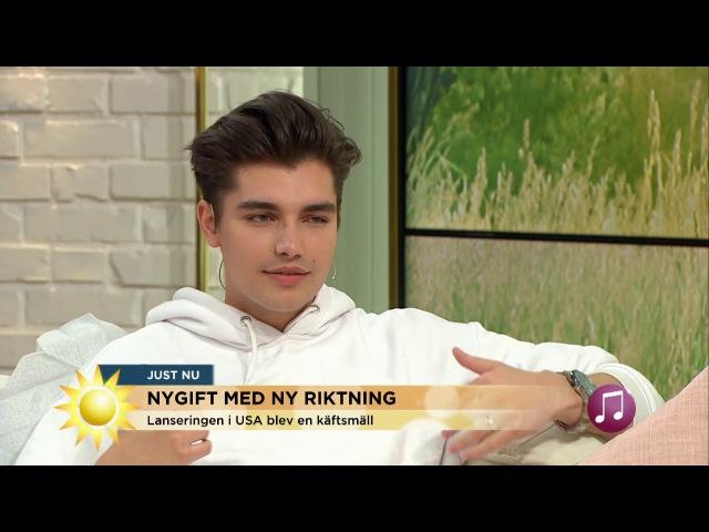 """Anton om mörka perioden """"Tog det väldigt hårt jag hade trott på alla"""" Nyhetsmorgon TV4"""
