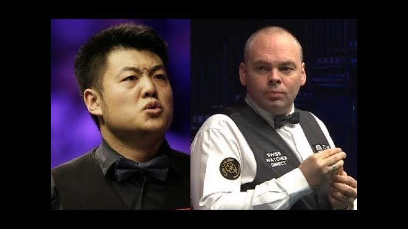 Liang Wenbo vs Stuart Bingham Q/F ᴴᴰ Romanian Masters 2018