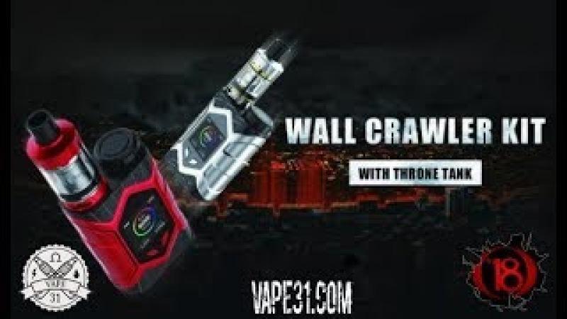 Vaptio Wall Crawler Kit - хороший китовый набор | Vape 31 обзор