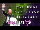 The REAL Sir Clive Sinclair Portable TV's Black Watches and C5's Oh my Kim Justice