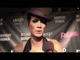 Raja Talks About ADAM LAMBERT On The Red Carpet