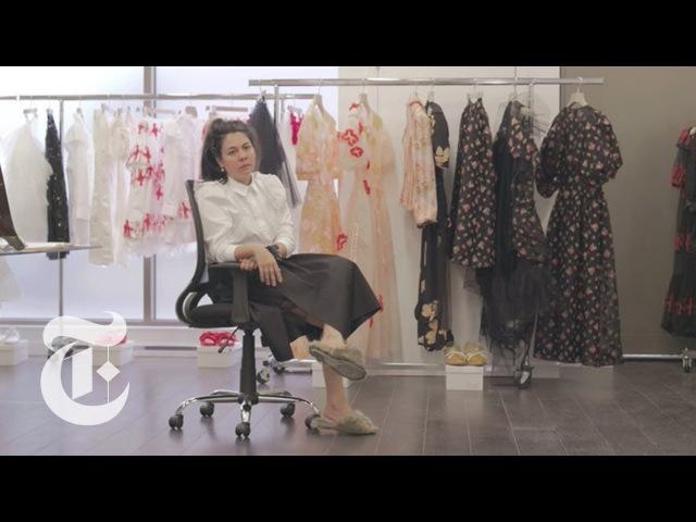 Inside Simone Rocha's All-Female Fashion House | In The Studio