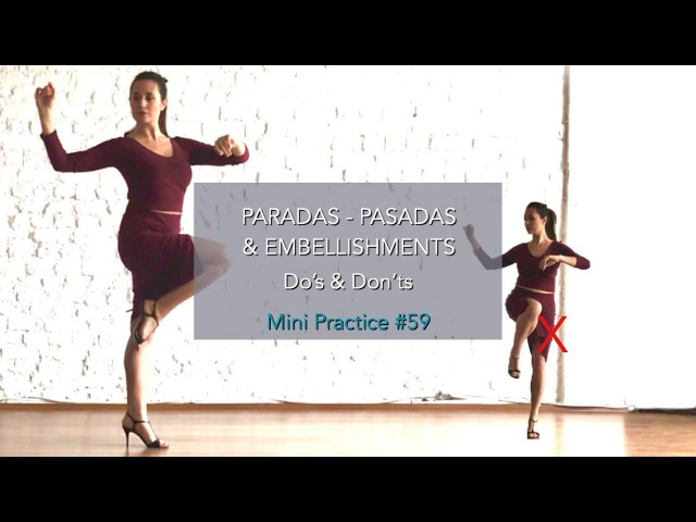 Paradas-Pasadas Embellishments - Do's Don'ts - Mini Practice ( 59)