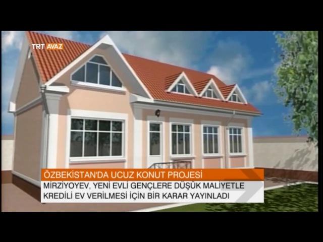 Özbekistanda Ucuz Konut Projesi - TRT Avaz Haber
