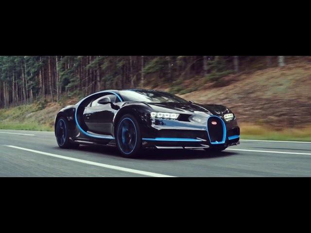 разгон 0-400 Bugatti Chiron 4k video