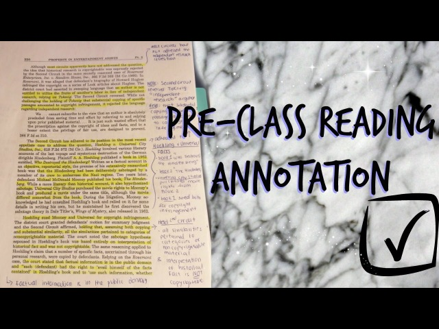LAW SCHOOL | Study Tips - Pre Class Reading Annotation Case Law Organization | J Wong