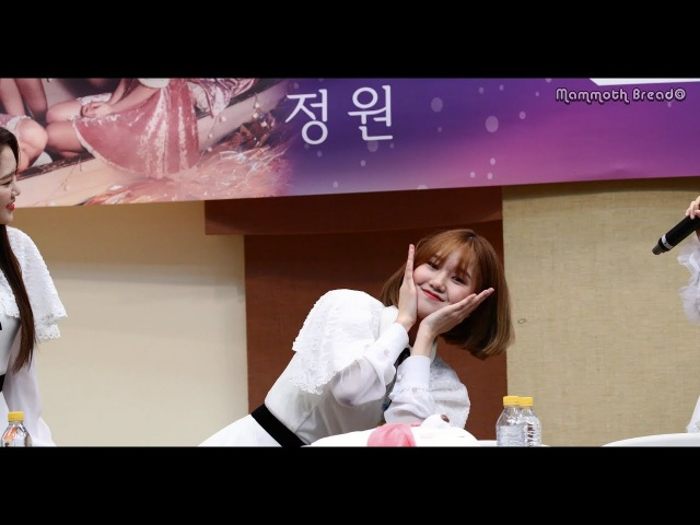180303 오마이걸 (OHMYGIRL) 미미 (Mimi) - 사르르 곡에 맞춰 귀여운 댄스 (Aegyo Dance) - 대구 팬사인회 [직캠 / FANCAM] [4K 60p]