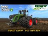 Farming Simulator 17 FENDT VARIO T 900 TRACTOR
