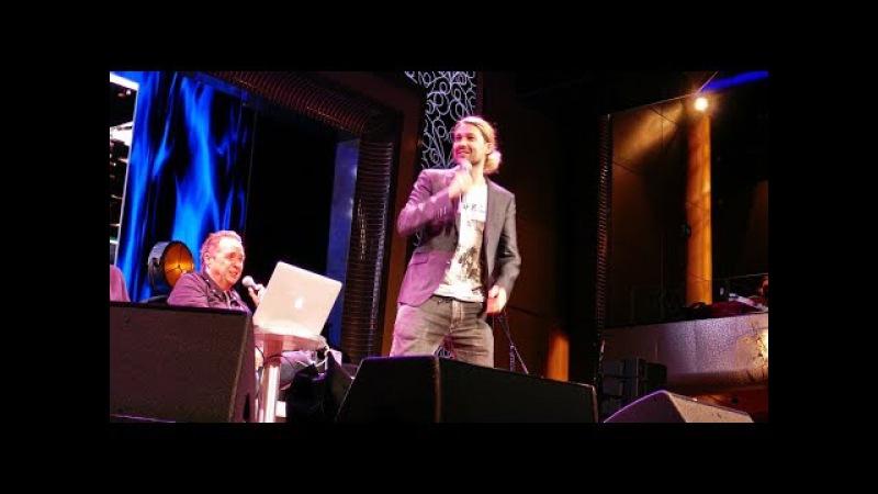 David Garrett, A.Tabarelli, K.Kremer, U.Bahn, Talkshow (Ausschnitt)