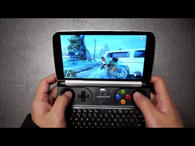 GPD WIN 2 RUNS GAME GTA5