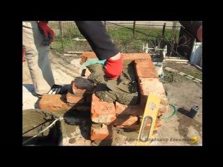 Кирпичная кладка угла в 1.5 кирпича - [© masterkladki] rbhgbxyfz rkflrf eukf d 1.5 rbhgbxf - [© masterkladki] rbhgbxyfz rkflrf e