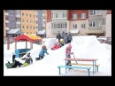 Детские сады соревнуются в зимнем оформлении участков