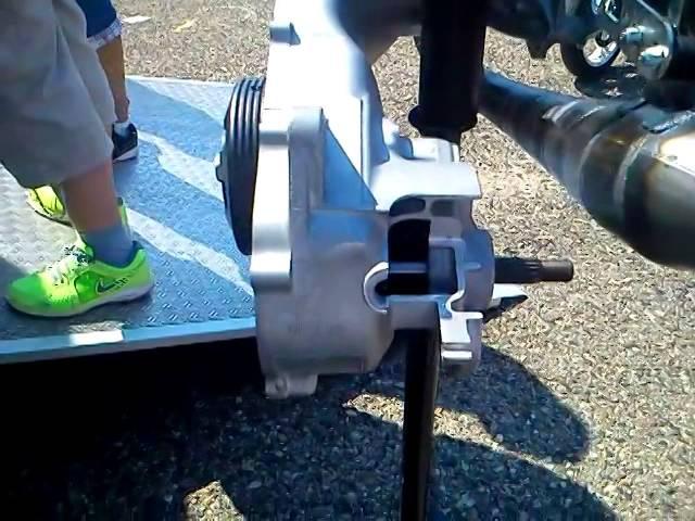 Minarelli Stage6 R/T 70cc (przekrój)