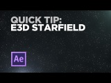 Element 3D Quick Tip Create a Starfield