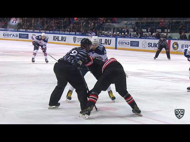 КХЛ (Континентальная хоккейная лига) - Моменты из матчей КХЛ сезона 16/17 - Гол. 1:1. Осала Оскар (М