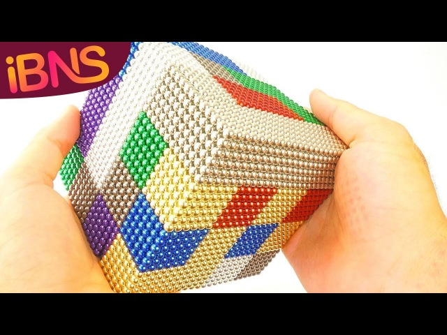 Playing with 10000 mini magnetic balls! (Oddly Satisfying, ASMR 10000 buckyballs!)