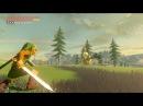 Zelda BOTW Classic Hero Link VS Gold Lynel Classic Hero Weapons Only