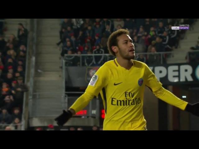 Ligue 1 - Rennes vs Paris SG 1-4 - All Goals Full Highlights (16/12/17)
