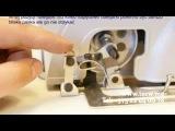Сборка швейной машины JUKI DDL-8100e (DDL 8700) с сервомотором DISON DS M1