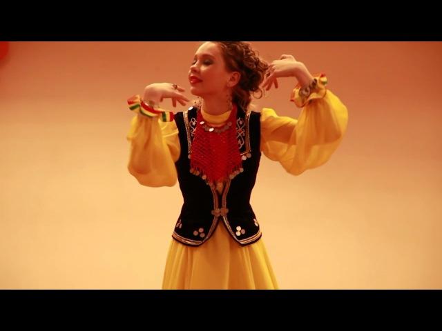 Башкирский народный танец Селтарле кыз Тимершаяхова Ангелина Олеговна