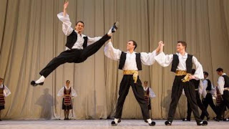 Сюита греческих танцев «Сиртаки». ГААНТ имени Игоря Моисеева.