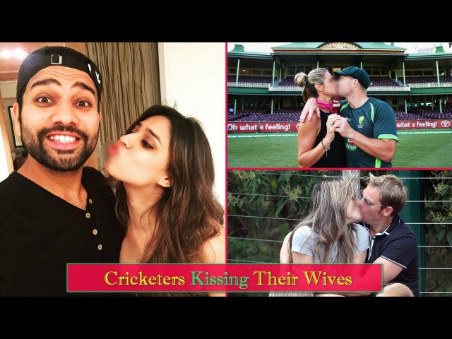15 Famous International Cricketers Love Their Wives In Front of Live Cameras