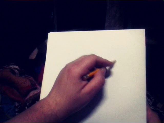 Человек который частично потерял зрение,нашел силы в себе и тренировать его с помощью рисования))