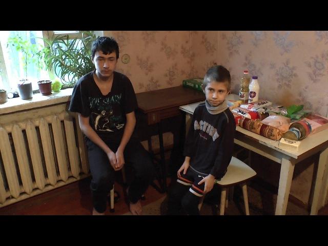 Помощь жителя Санкт Петербурга деткам на пос.Октябрьский