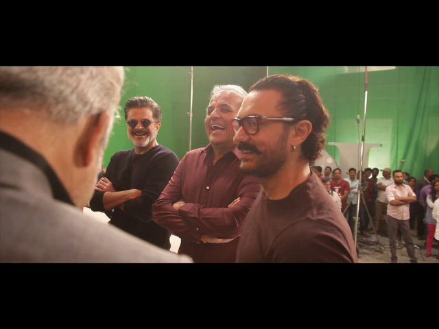Aamir Khan Gives The Mahurat Clap For Total Dhamaal | Ajay Devgn | Anil Kapoor | Madhuri Dixit