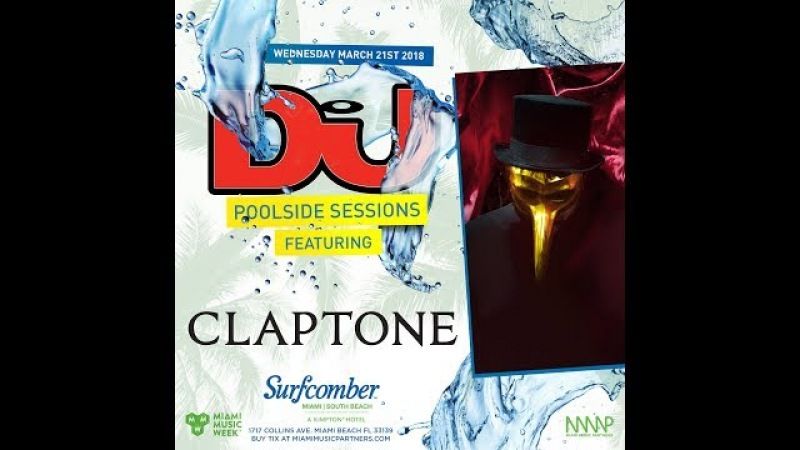 Claptone Live From DJ Mag's Pool Party in Miami