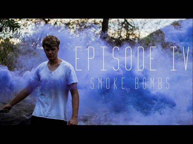 Exploring Escondido IV COLORED SMOKE BOMBS