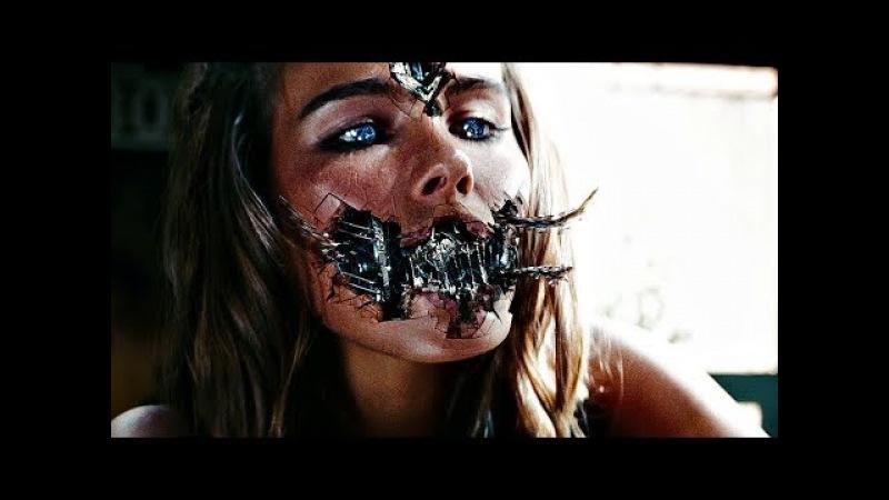 Поцелуй Сэма с Девушкой - Трансформером (Десептикон) . Трансформеры: Месть падших. 2009.