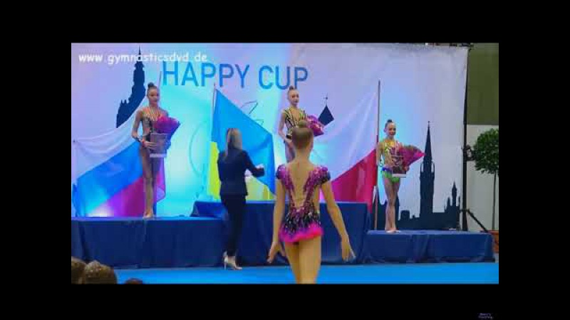 Award Ceremony - juniors (AA) Happy Cup Ghent 2017