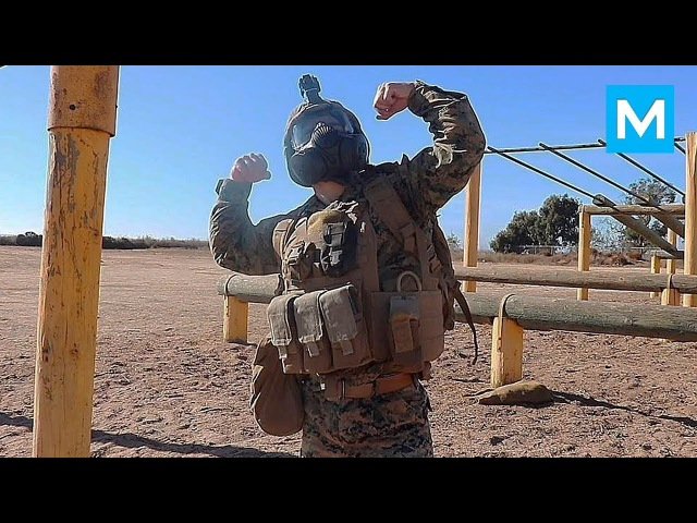 Strongest U.S. MARINE - Real Workouts - Julian Miguel Arroyo   Muscle Madness