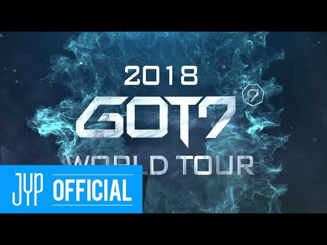 2018 GOT7 WORLD TOUR TRAILER