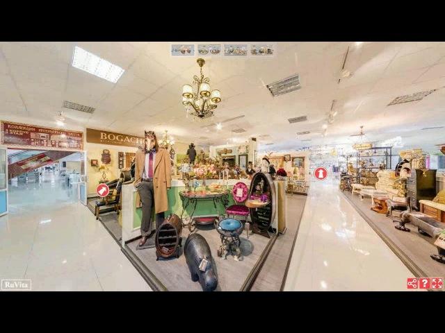 Обзор виртуального 3D-тура на платформе Рувита