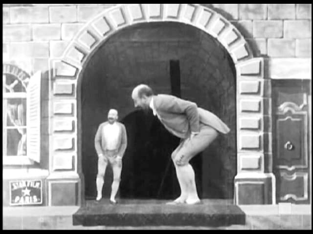 The Dwarf and the Giant (1901) - GEORGES MELIES - Nain et geant