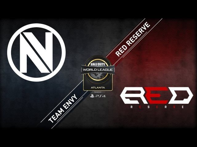 Red Reserve vs Team EnVyUs CWL Atlanta Open 2018 Alpha Stream Day 1