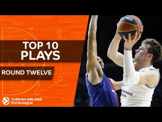 Top 10 Plays - Turkish Airlines EuroLeague Regular Season Round 12