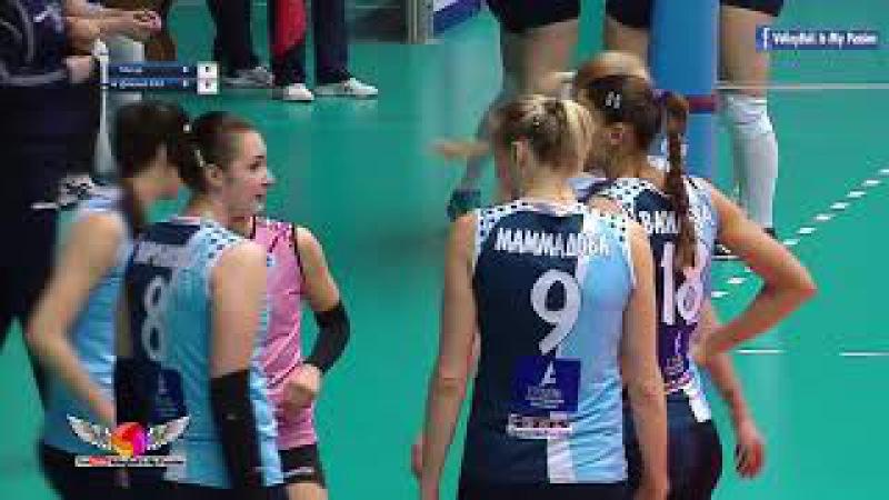[HD] Dynamo-Metar vs Dynamo-Kazan | 07-01-2018 | Russian Superleague Womens Volleyball 2017/2018